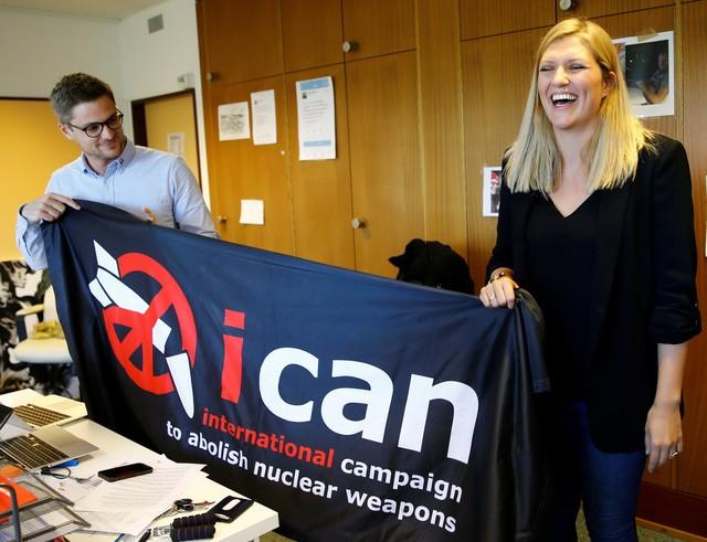 Нобелевскую премию мира получила международная кампания ICAN - ảnh 1