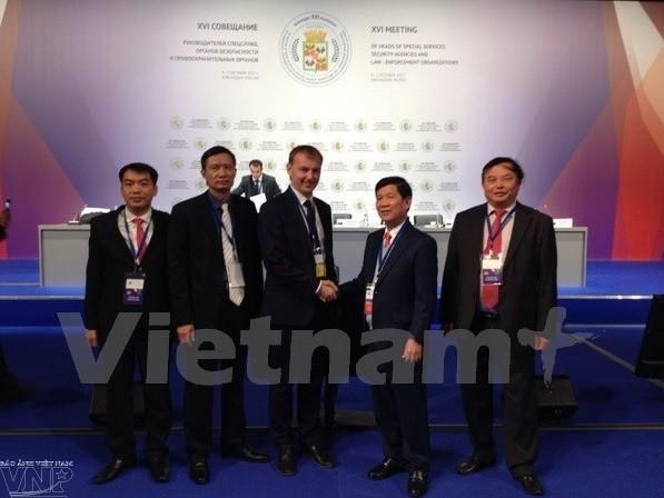 Вьетнам принял участие в 16-м совещании руководителей спецслужб и органов безопасности  - ảnh 1