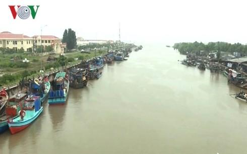 Во многих провинциях Вьетнама активно ведется экстренная работа по противодействию тайфуну «Тембин» - ảnh 1