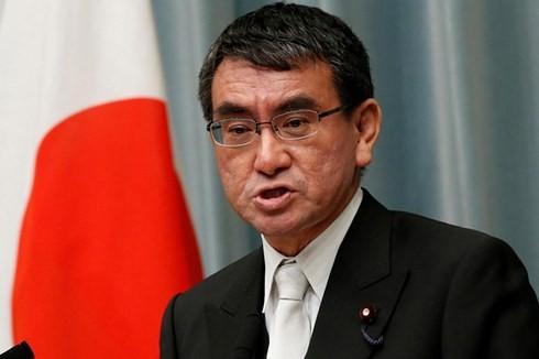 Глава МИД Японии совершает турне по странам Ближнего Востока - ảnh 1