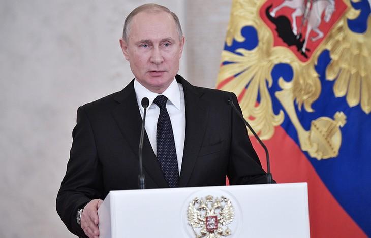 Путин назвал терактом взрыв в Петербурге - ảnh 1