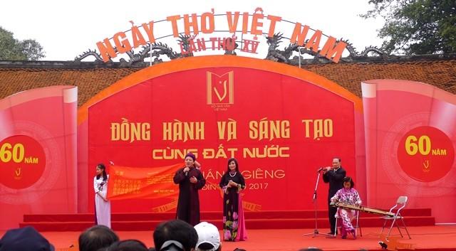 В 16-й День вьетнамской поэзии пройдут различные интересные мероприятия - ảnh 1