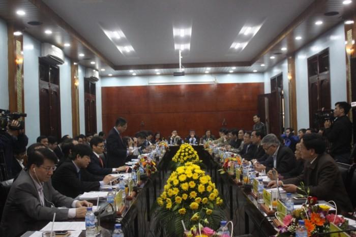 Вице-премьер Ву Дык Дам совершил рабочую поездку в провинцию Куангчи - ảnh 1