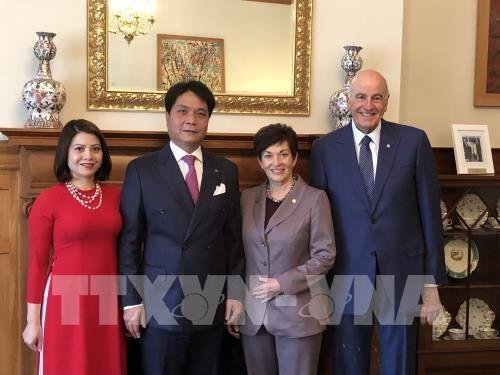 Генерал-губернатор Новой Зеландии Пэтси Рэдди поддерживает сотрудничество с Вьетнамом  - ảnh 1