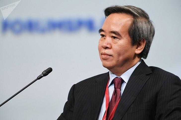 Вьетнам принимает активное участие в Петербургском Международном экономическом форуме - ảnh 1