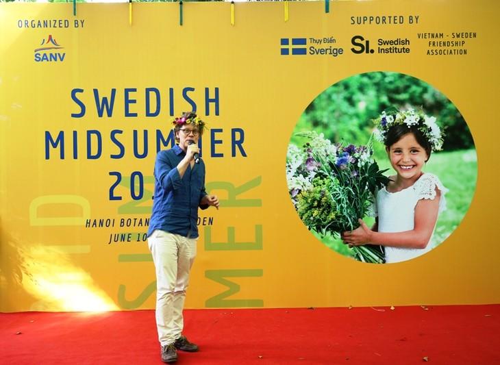 В Ханое прошла вьетнамо-шведская дружественная встреча - ảnh 1