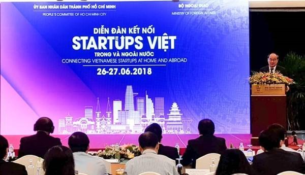 Открылся форум соединения вьетнамских стартапов в стране и за рубежом - ảnh 1
