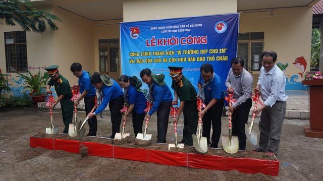 Молодежь дельты реки Меконг участвует в волонтерской кампании по защите моря и островов страны - ảnh 1