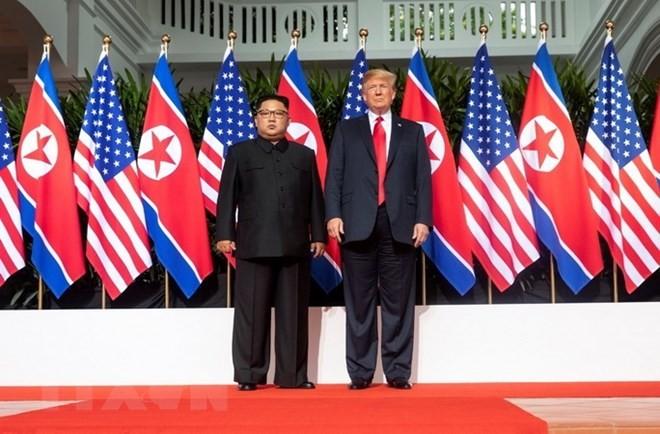 Трамп верит в то, что лидер КНДР желает более светлого будущего для своей страны - ảnh 1