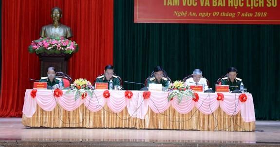 В провинции Нгеан прошел семинар, посвящённый 50-летию победы в Кхешани - ảnh 1