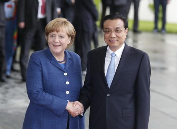 Премьер Госсовета КНР Ли Кэцян прибыл в Германию с официальным визитом - ảnh 1