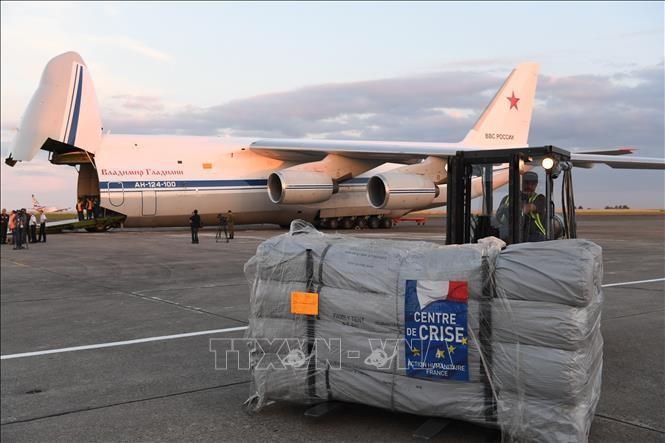 Франция и Россия совместно доставят в Сирию гуманитарную помощь  - ảnh 1