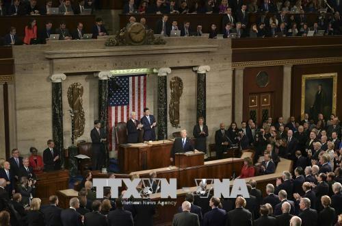 Конгресс США одобрил оборонный бюджет на 2019 год  - ảnh 1