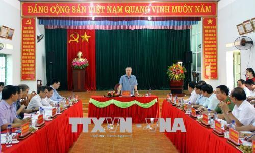 Провинция Тхайнгуен должна укрепить партийное строительство и обеспечить политическую систему - ảnh 1