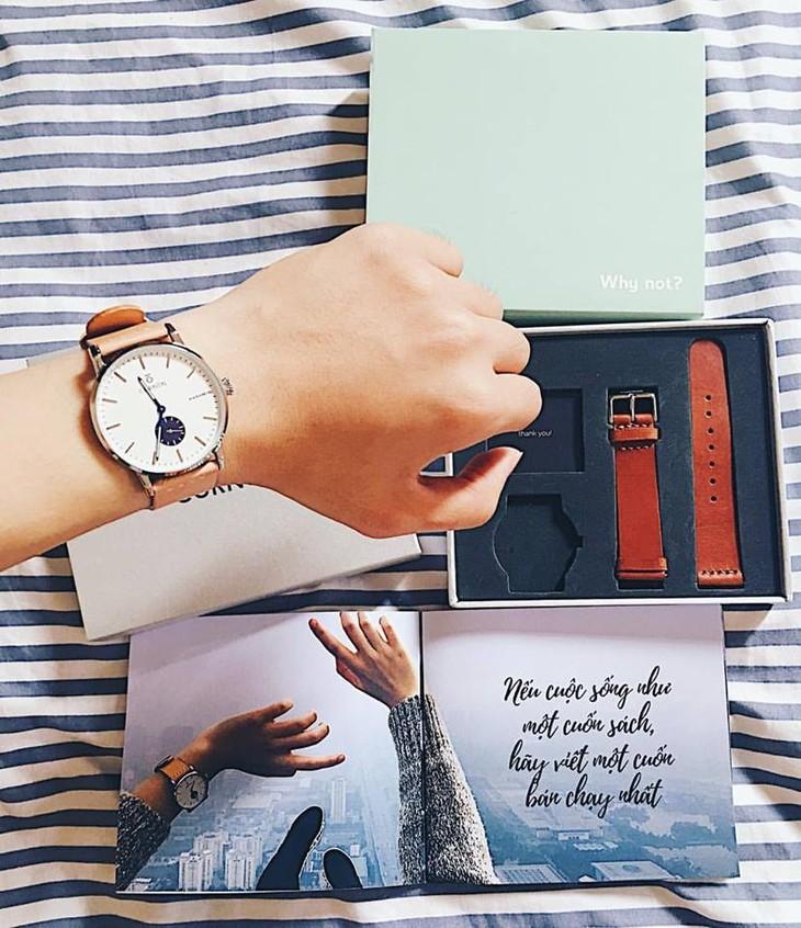 Curnon осуществляет мечту о часах вьетнамского бренда  - ảnh 4