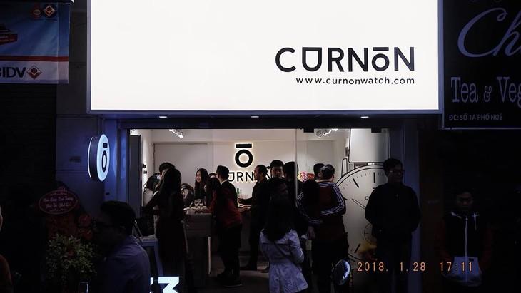 Curnon осуществляет мечту о часах вьетнамского бренда  - ảnh 7