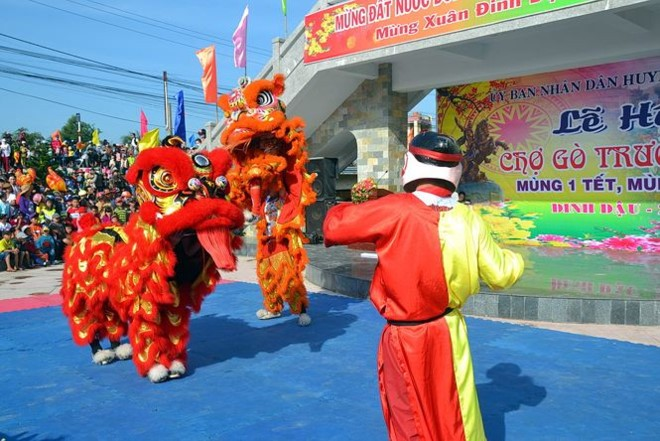 Провинция Биньдинь предлагает признать ярмарку Го объектом национального культурного наследия    - ảnh 1