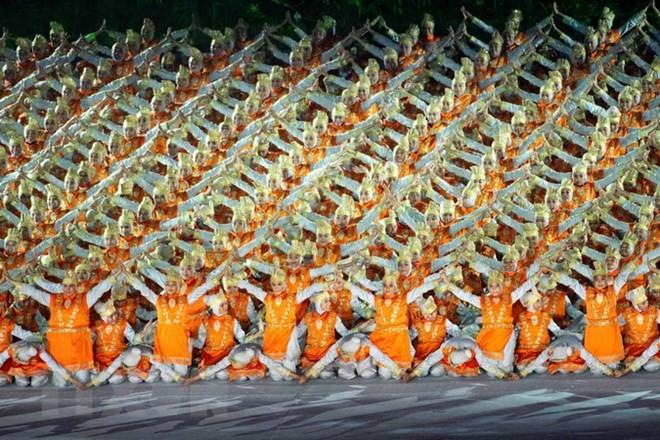 В Индонезии состоялась церемония открытия Азиатских игр 2018 - ảnh 1