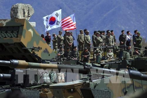 Республика Корея не получала от США предложения возобновить совместные военные учения - ảnh 1