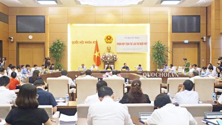 В Ханое открылось 11-е пленарное заседание комитета Национального собрания Вьетнама по юридическим вопросам - ảnh 1