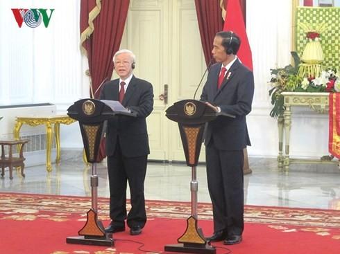 Президент Республики Индонезия с супругой нанесет государственный визит во Вьетнам - ảnh 1