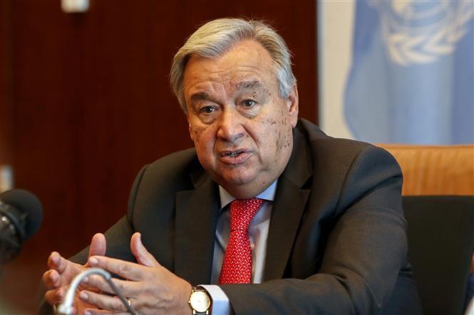 Генсек ООН приветствует приверженность денуклеаризации лидера КНДР - ảnh 1