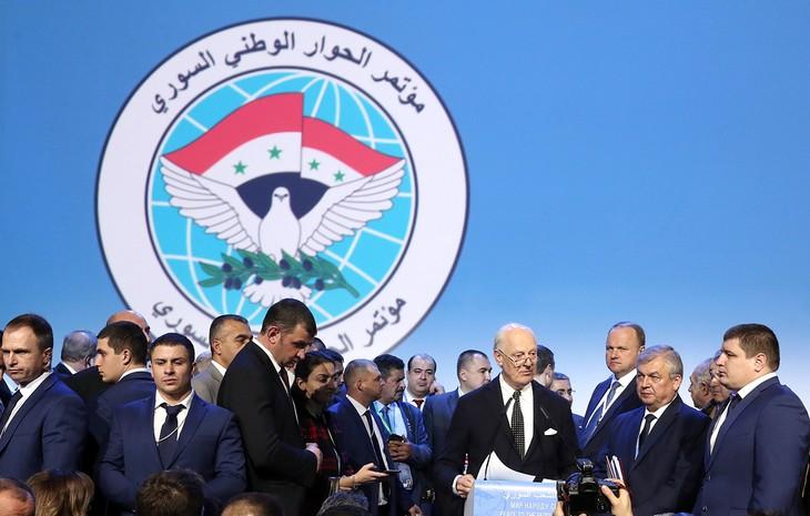Дипломаты Ирана, России и Турции обсудили создание Конституционного комитета Сирии - ảnh 1