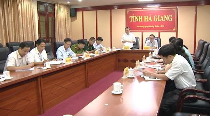 В Ханое прошла онлайн-конференция по реагированию на сверхтайфун «Мангхут» - ảnh 1
