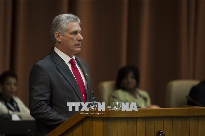Председатель Кубы прибыл в США для участия в Генассамблее ООН - ảnh 1