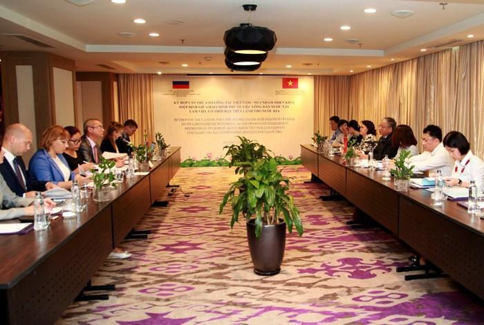 Активизация привлечения трудящихся между Вьетнамом и РФ - ảnh 1