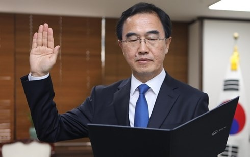 Две Кореи провели совместные праздничные мероприятия по случаю 11-й годовщины межкорейской декларации - ảnh 1