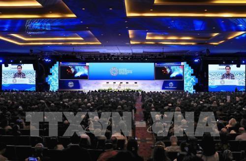 В Индонезии открылось пленарное заседание ежегодной конференции МВФ и ВБ - ảnh 1