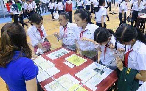 В провинции Биньтхуан проходит выставка, посвящённая островам Хоангша и Чыонгша - ảnh 1