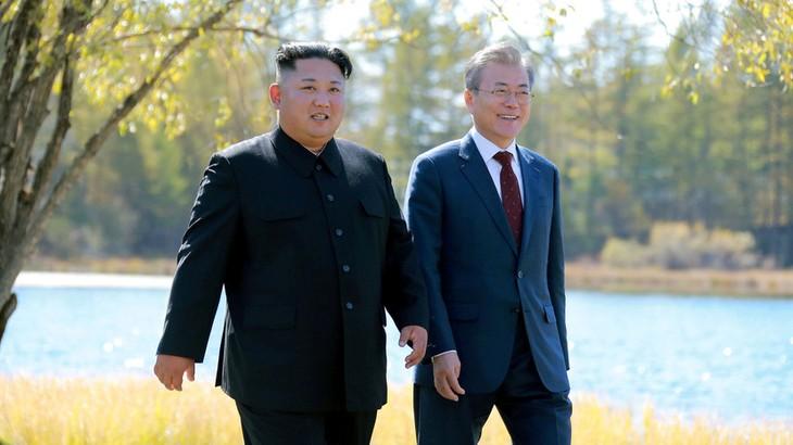 Мун Чжэ Ин заявил об отсутствии точного плана визита Ким Чен Ына в Республику Корея - ảnh 1
