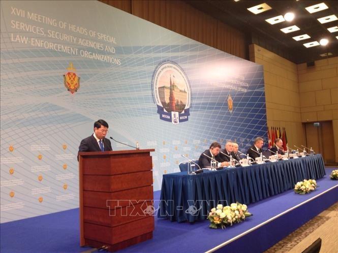 Вьетнам принял участие в 17-м совещании руководителей спецслужб, органов безопасности и правоохранительных органов иностранных государств в России - ảnh 1