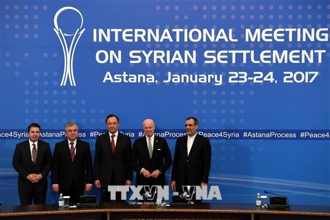Россия, Турция и Иран проведут следующий раунд переговоров по сирийскому урегулированию - ảnh 1