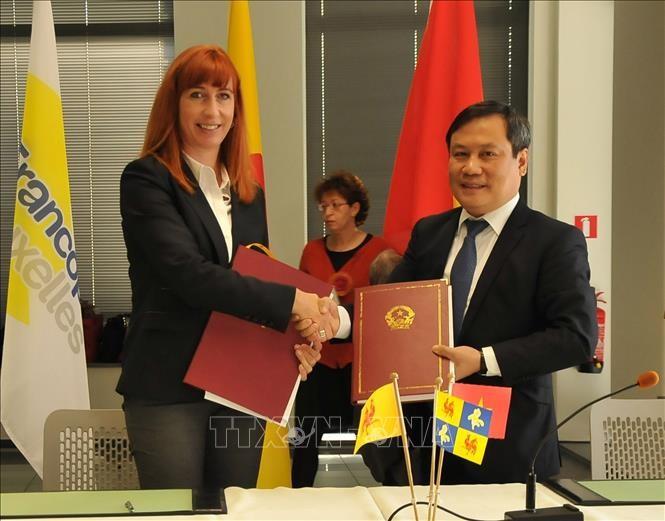 Вьетнам и регион Валлония – Брюссель подписали 25 проектов о сотрудничестве - ảnh 1