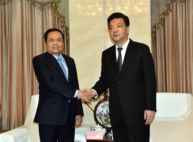 Председатель ЦК ОФВ совершает рабочий визит в Китай - ảnh 1