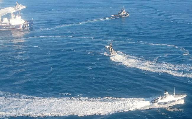 ФСБ России обвинила Украину в обстреле российских кораблей в Керченском заливе - ảnh 1