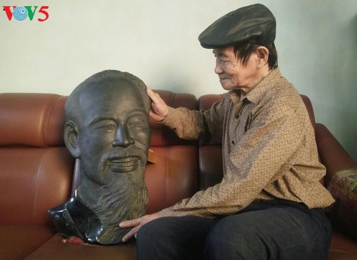 Уникальная угольная скульптура в провинции Куангнинь - ảnh 3