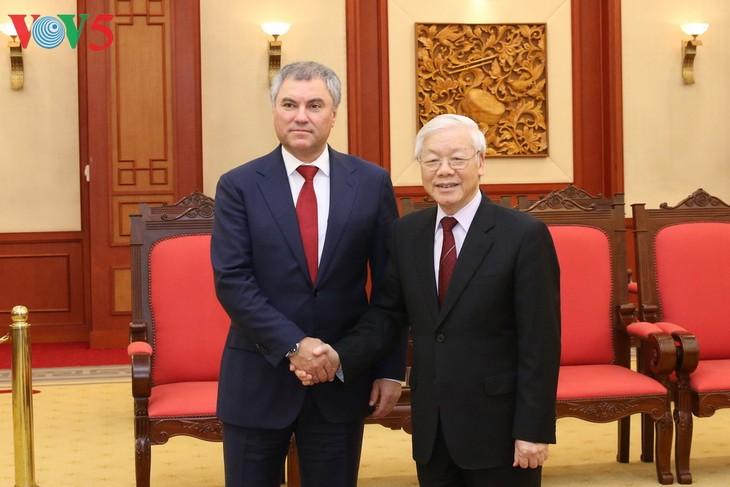 Вьетнам придает важное значение укреплению и развитию отношений всеобъемлющего стратегического партнерства с РФ - ảnh 1