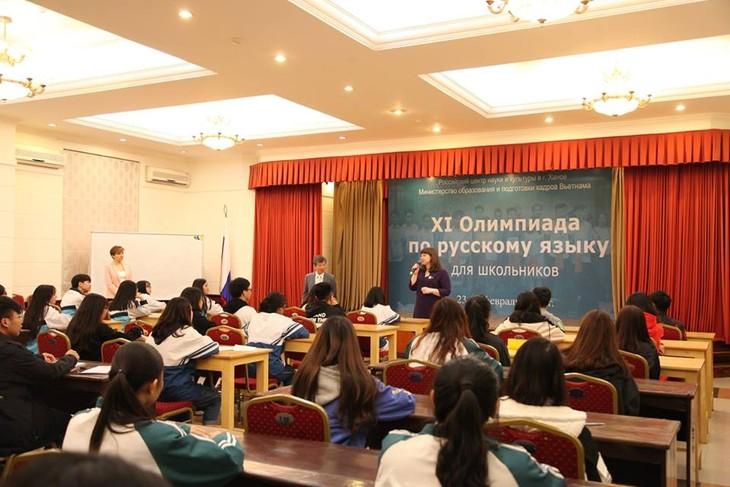 Олимпиада по русскому языку как площадка для  развития талантов вьетнамских школьников - ảnh 2