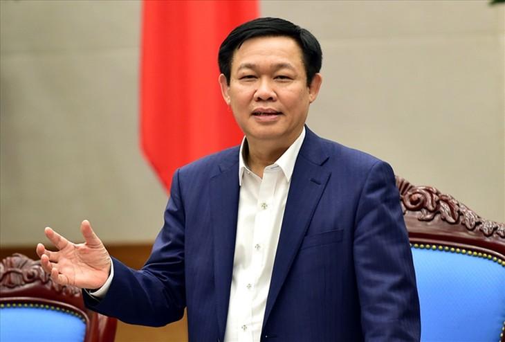 Вице-премьер СРВ Выонг Динь Хюэ принял делегацию МВФ - ảnh 1