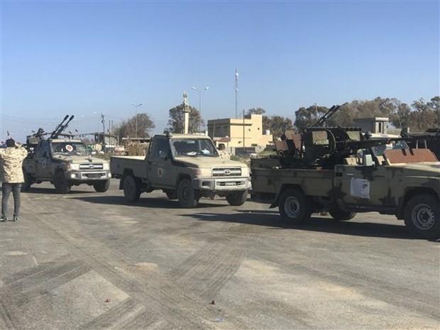 Триполи подвергся ракетному обстрелу - ảnh 1