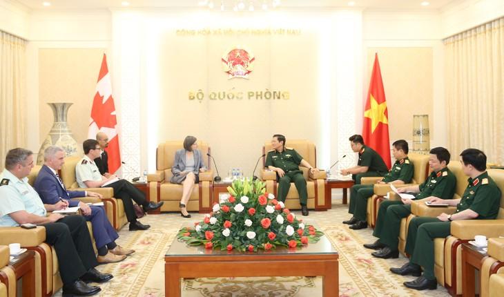 Укрепление всеобъемлющего партнёрства между Вьетнамом и Канадой - ảnh 1
