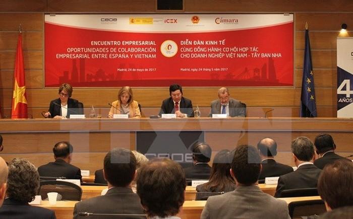 Испания заняла первое место в списке стран-получателей вьетнамских инвестиций - ảnh 1