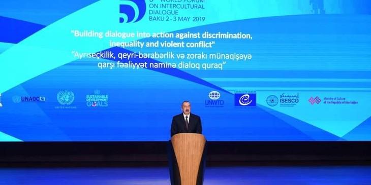В Баку начал работу V Всемирный форум межкультурного диалога - ảnh 1