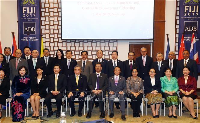 На конференции министров финансов АСЕАН+3 были выдвинута мера по реагированию на финансовый кризис - ảnh 1