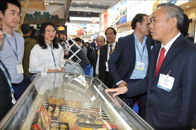 Вьетнамские морепродукты претендуют на рынок Европы - ảnh 1