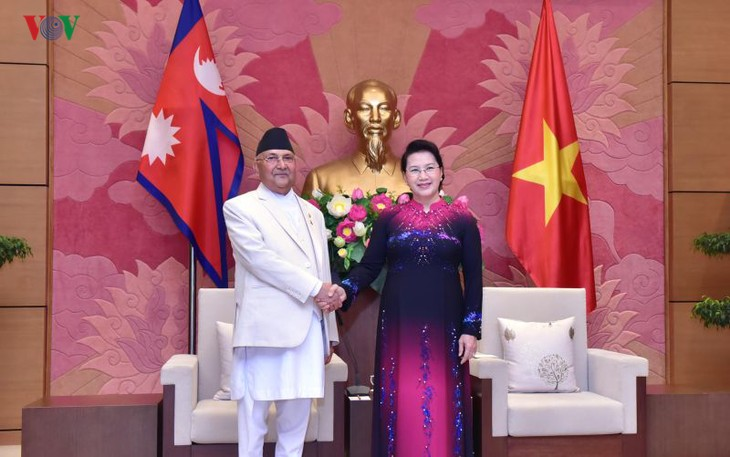 Нгуен Тхи Ким Нган приняла премьер-министра Непала - ảnh 1